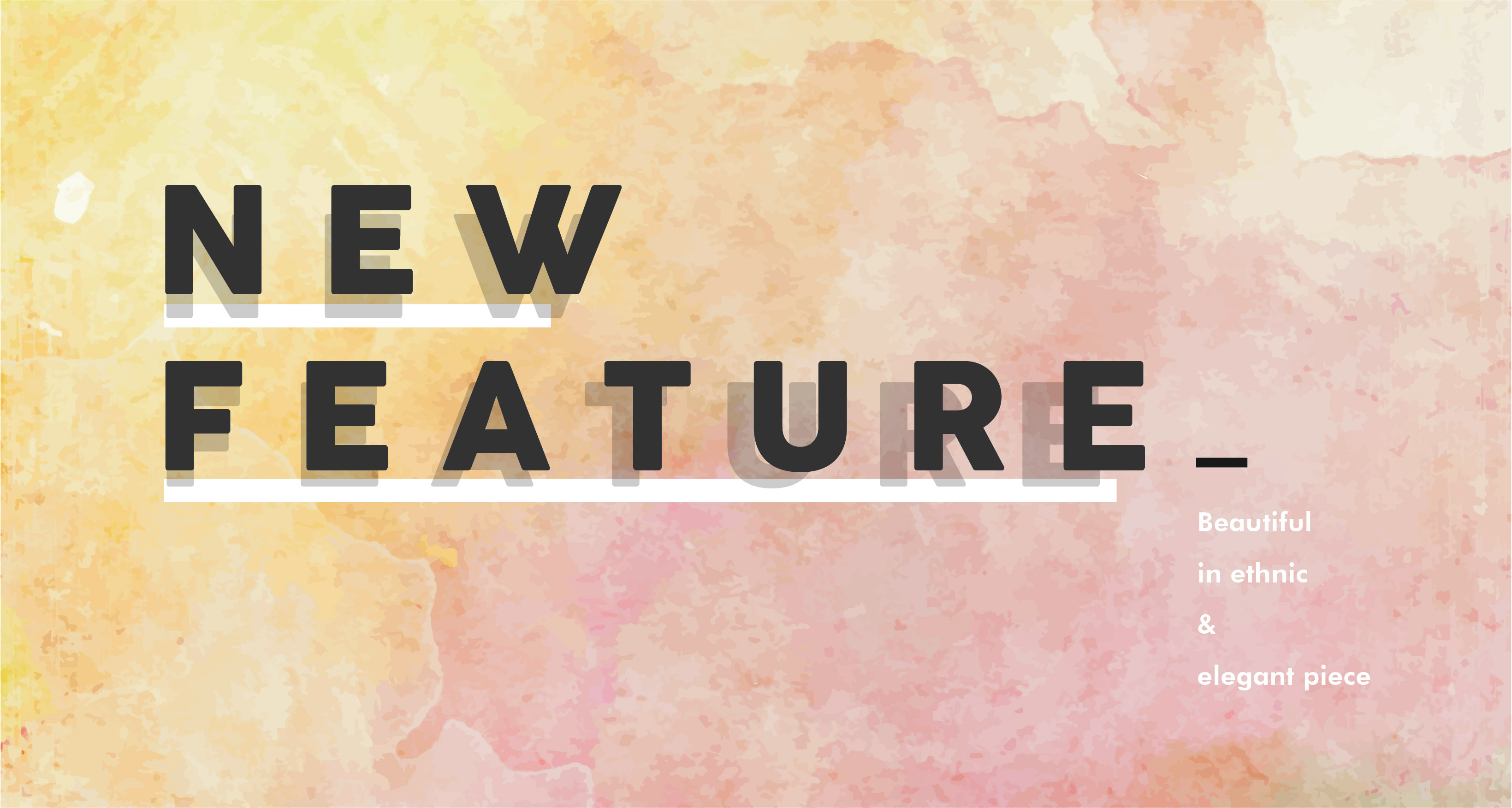 NEW FEATURE MARCH 2016