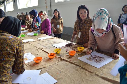 Batik Keris melestarikan budaya