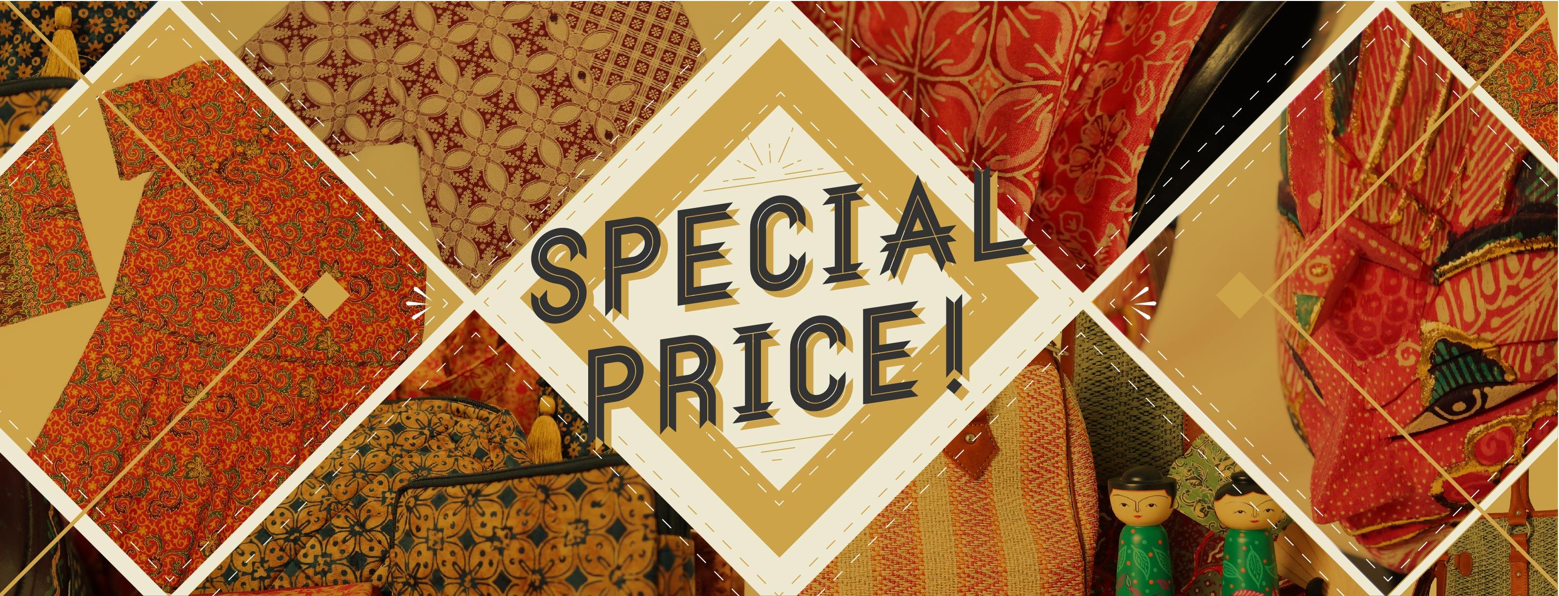 Pesta Special Price di Batik Keris
