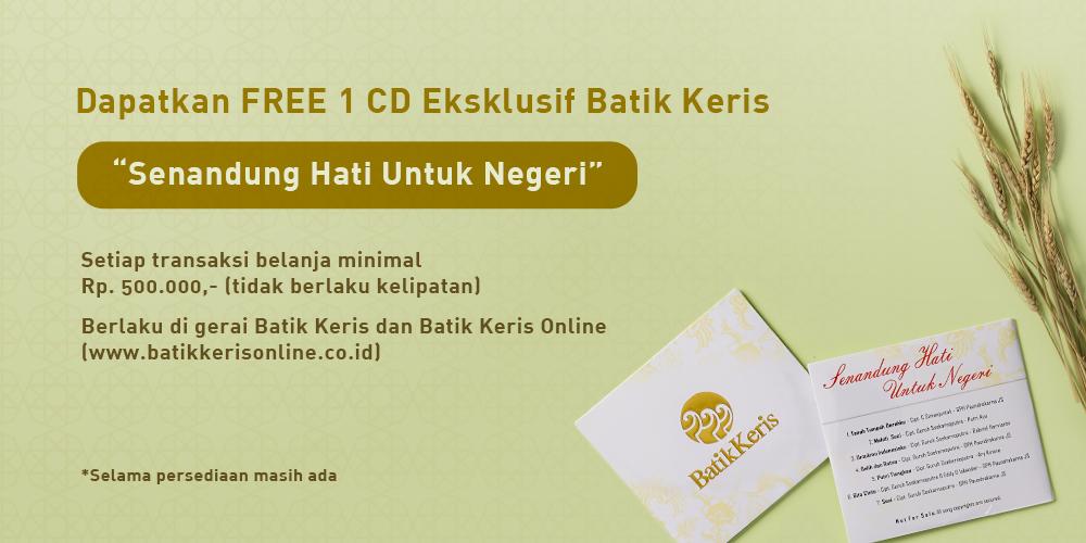 CD lagu Senandung Hati untuk Negeri